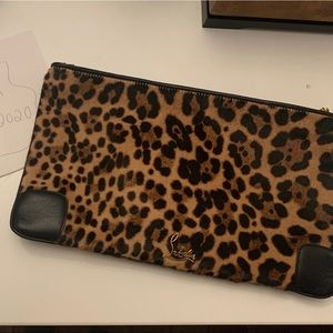 Authentic louboutin clutch or crossbody